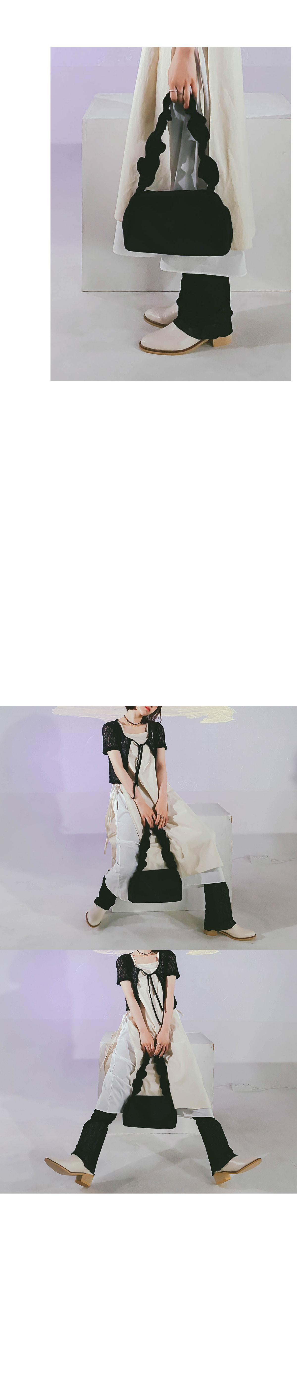 Mini Shirring Shoulder Bag