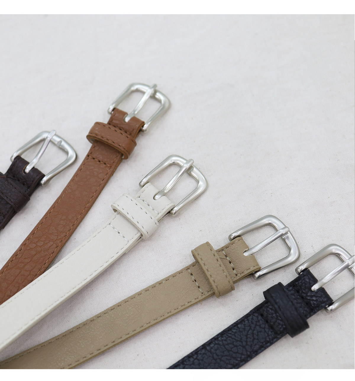 ♥1+1♥ Matt Square Belt