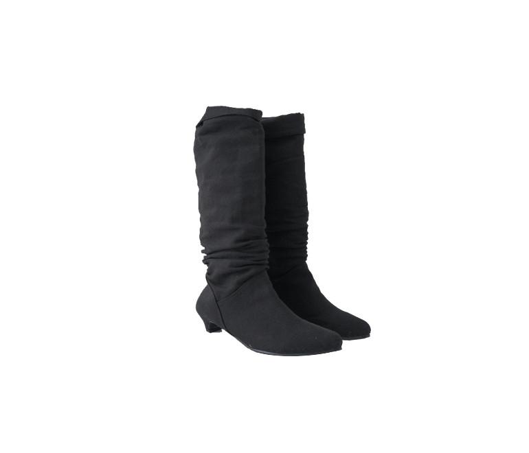 canvas crease boots
