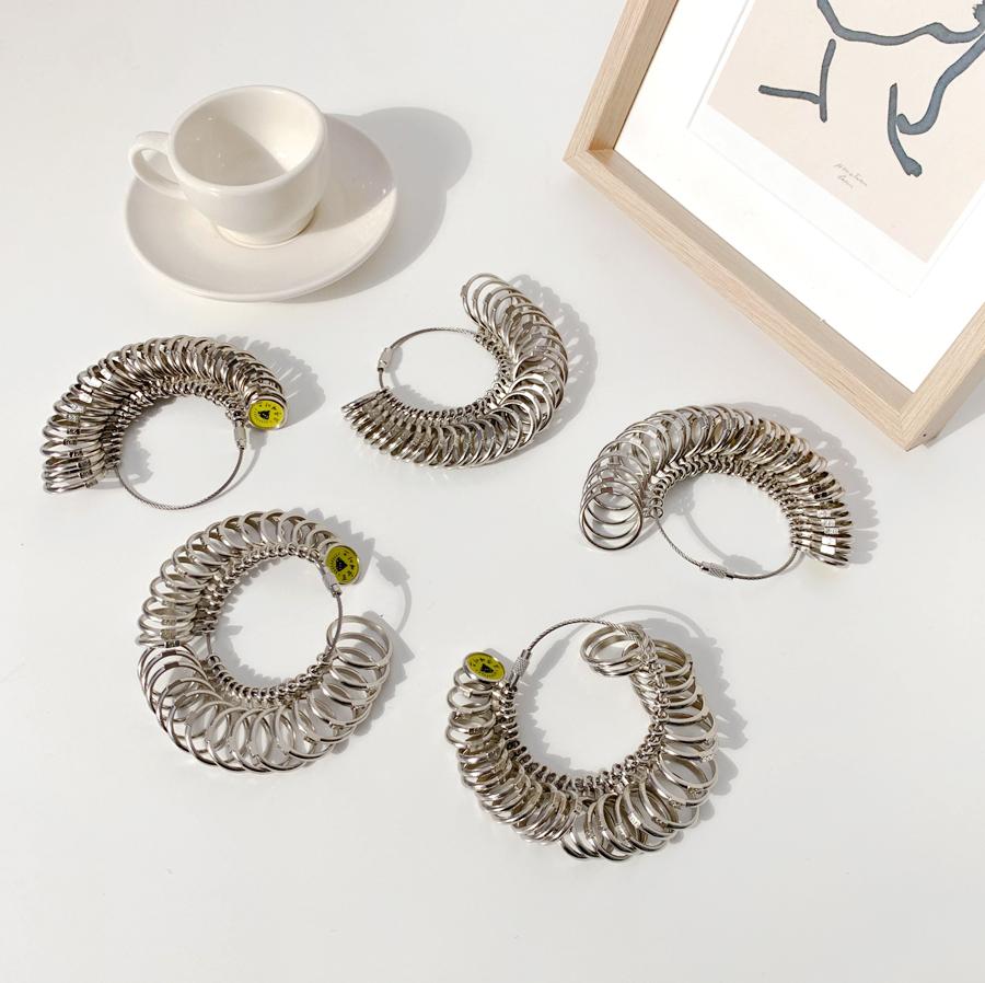 Ring Size Measurement Lake Meter Ring Gauge Silver Type
