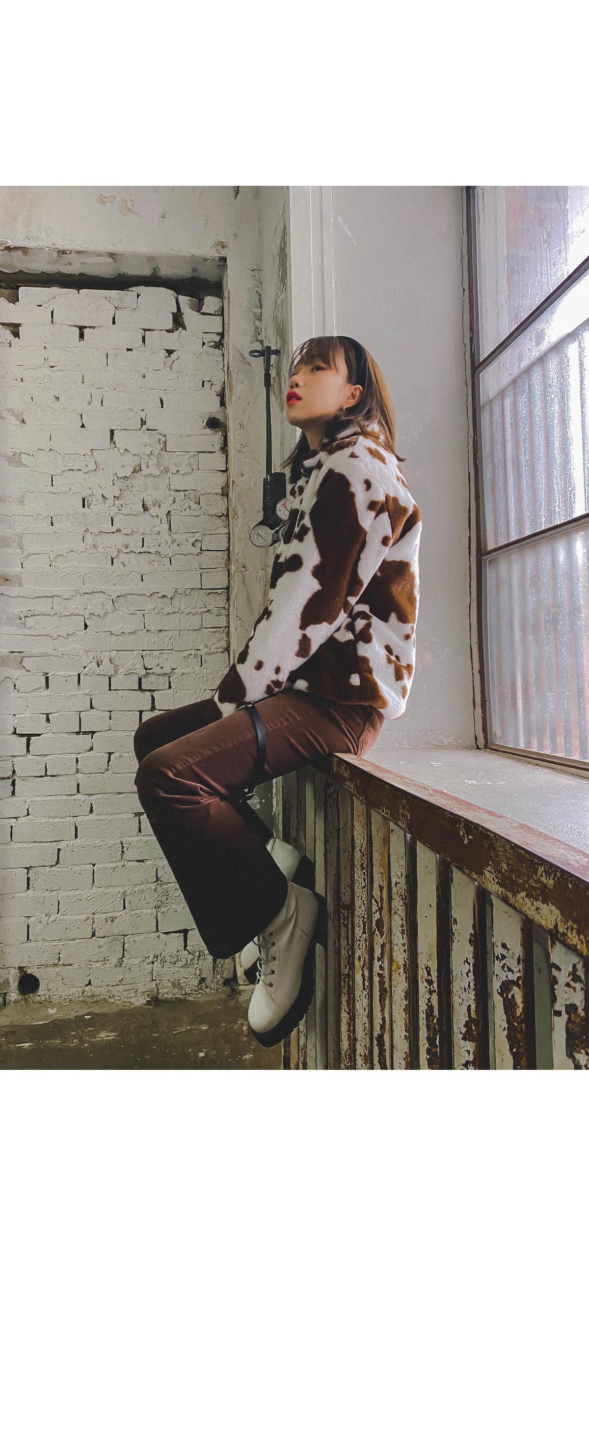 Dalmatian Jesse Furjacket