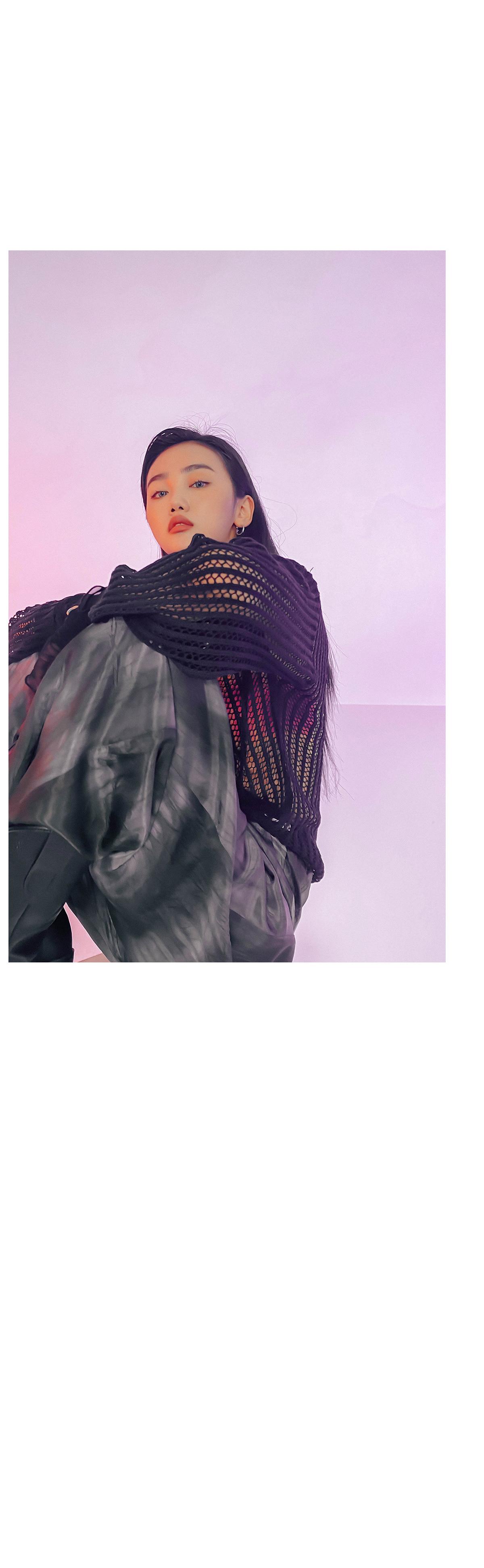 See Through Karan Net Knit
