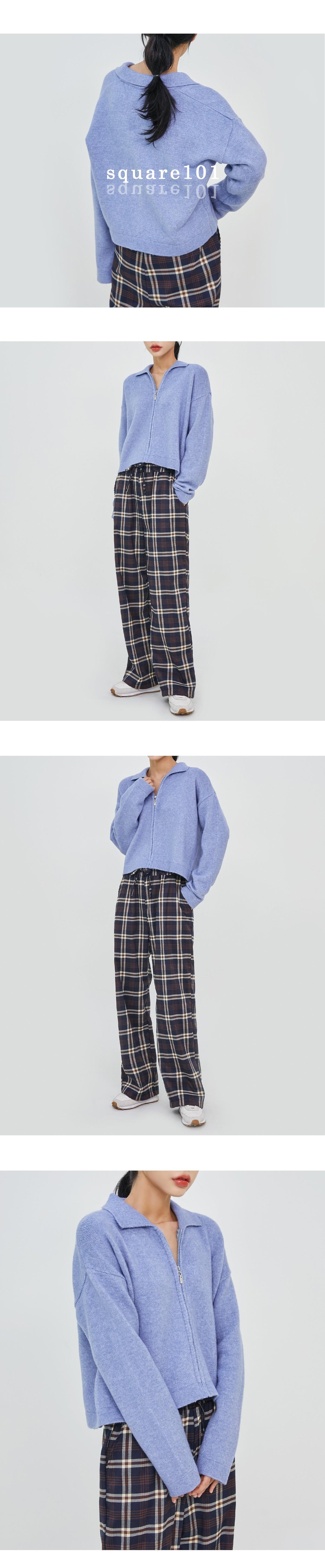 Zech Knit Zip-Up