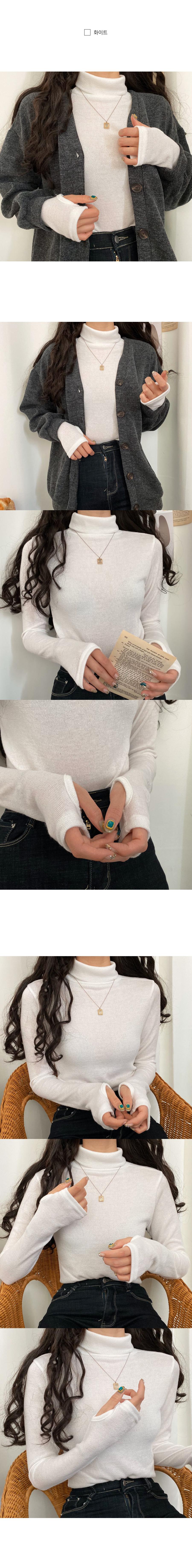Hand warmer polar knit