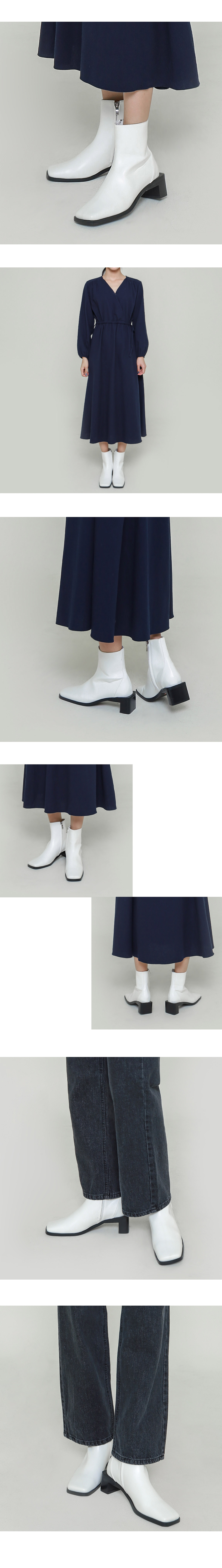 Ten square boots