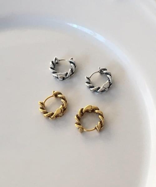 (silver925) senne earring