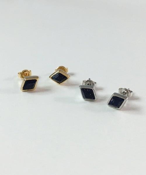 (silver925) night light earring