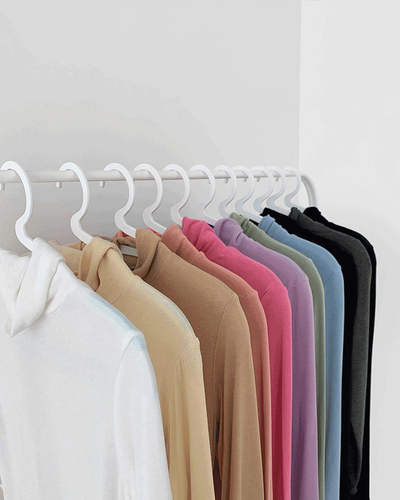 Fourburn Rayon Turtleneck T-shirt