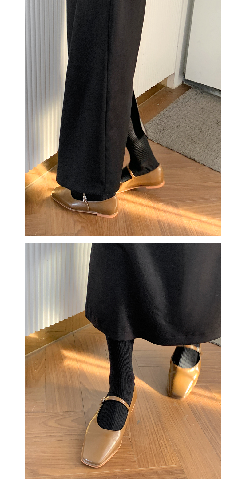 Formal Mary Jane Flat Shoes
