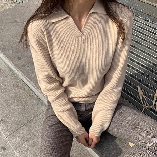 韓國空運 - V-karat cashmere knit 針織衫