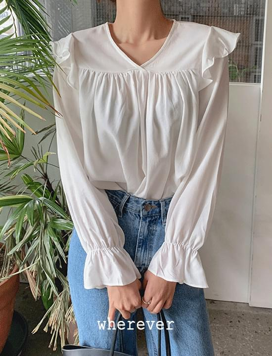 Fave frill blouse