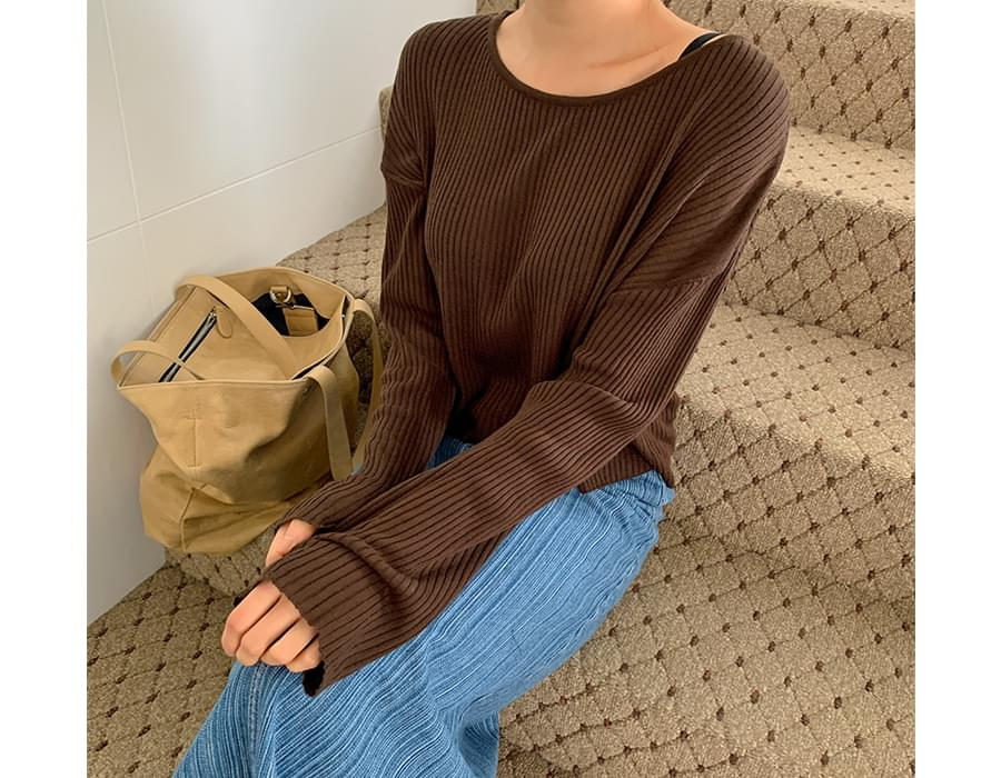 Brownie Linen Ribbed Knitwear