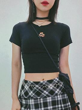 Bear Wendy cropped T-shirt 短袖上衣
