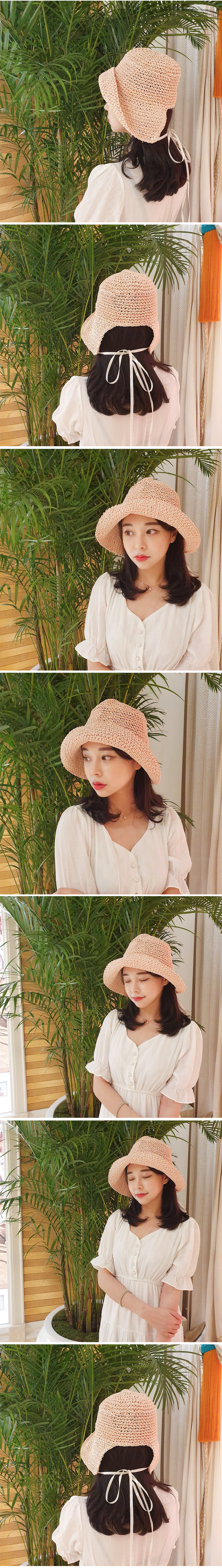 Summer Straw Bung Hat H#YW006