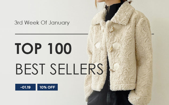 TOP 100 BEST SELLERS - 3rd Week Of January