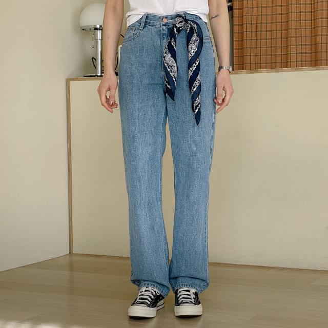 Force Faded Denim Pants