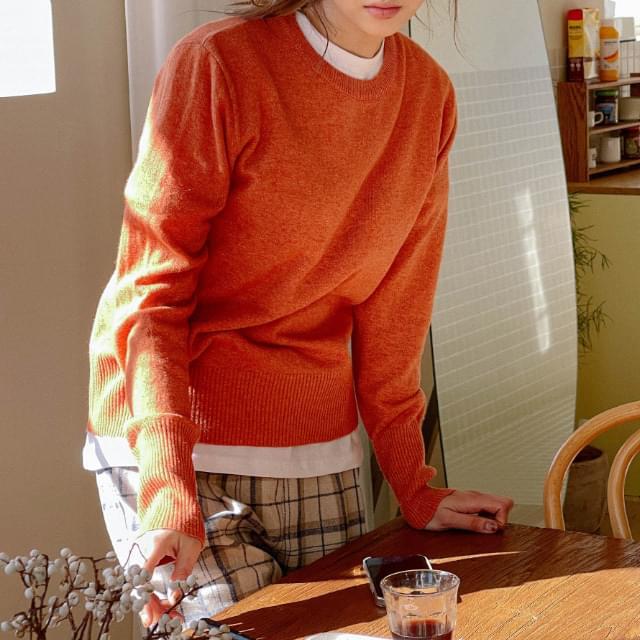 SCSI Wide Shibori Wool Knit knitwears