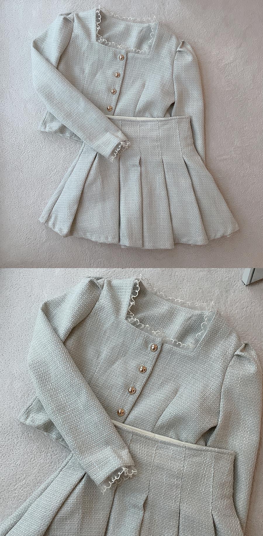 Shane Tweed Lace Jacket Blouse 2color