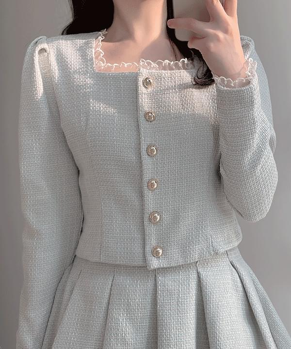 Shane Tweed Lace Jacket Blouse 2color ブラウス