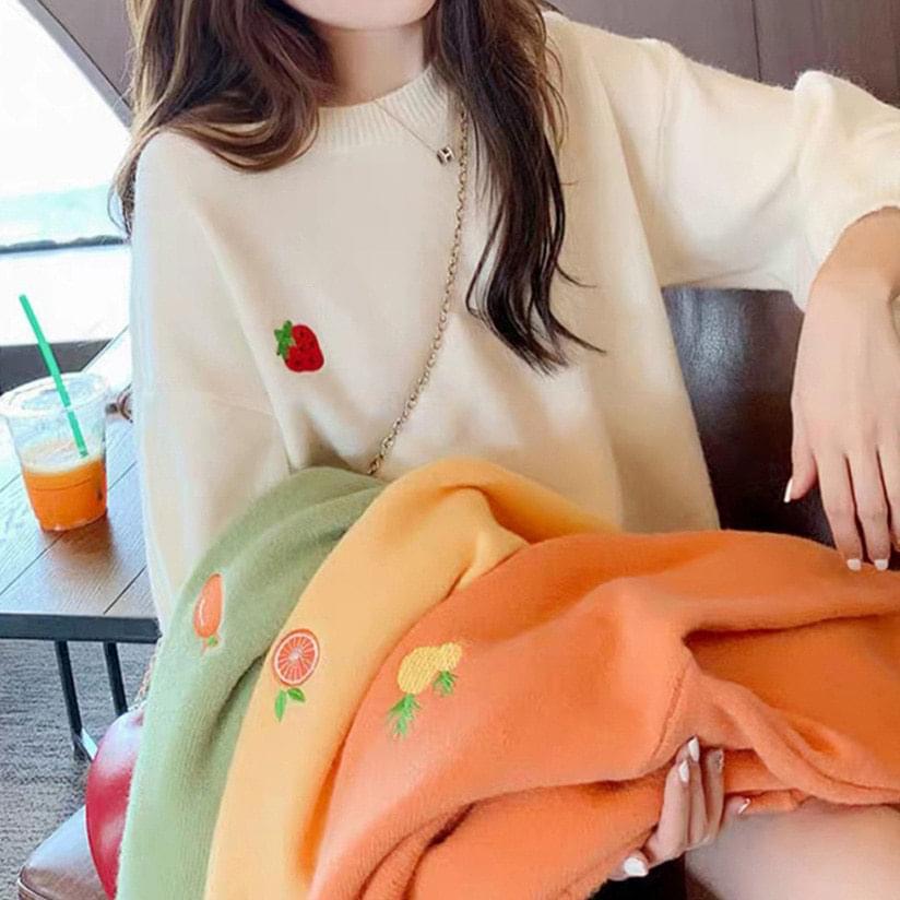 Fruit round knit