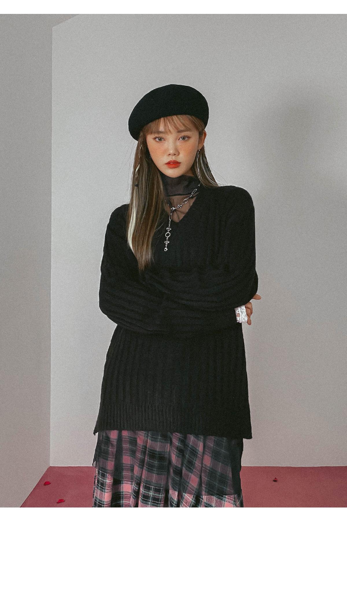 V-Neck Gemma Loose Fit Knit