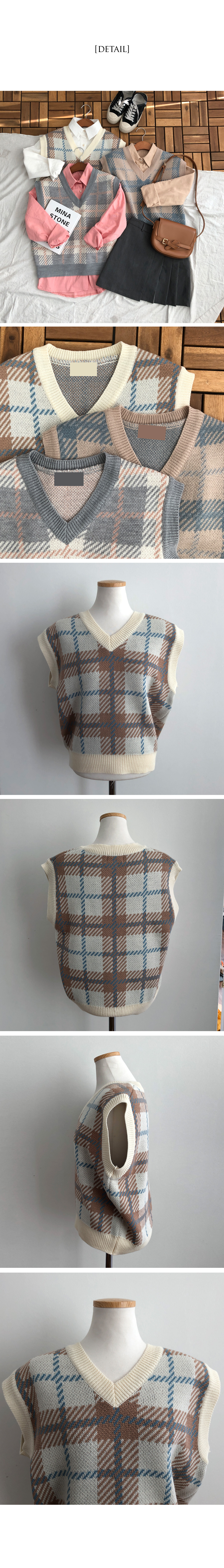 Foaming check vest