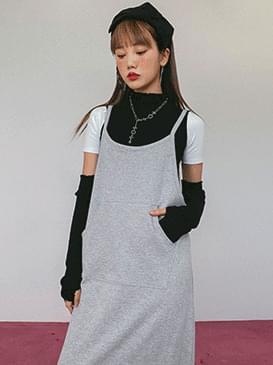 Overall Juicy Long Dress 洋裝