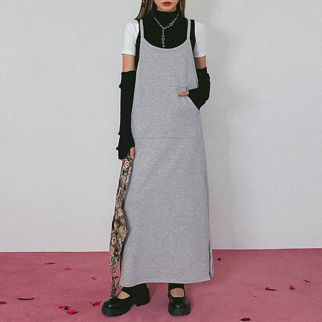 Overall Juicy Long Dress