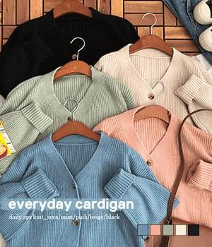 韓國空運 - Everyday Dottom Cardigan 針織外套