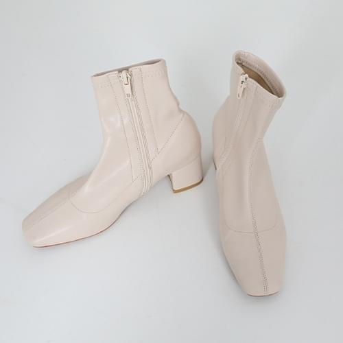 Ankle Boots Cream 235mm