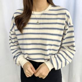 Three-stage color matching Dangara sweat shirt