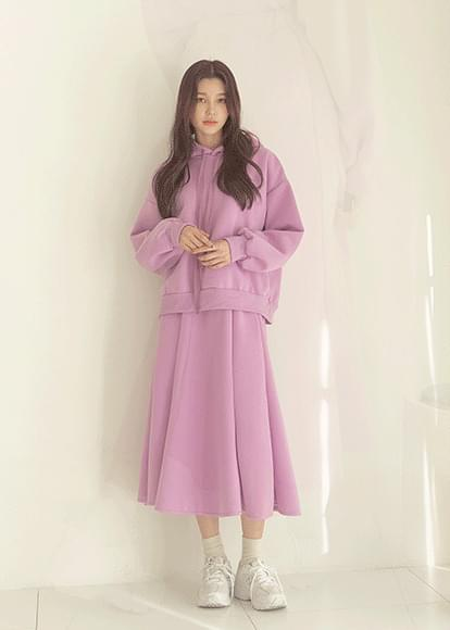 Wello Fleece-lined hooded set
