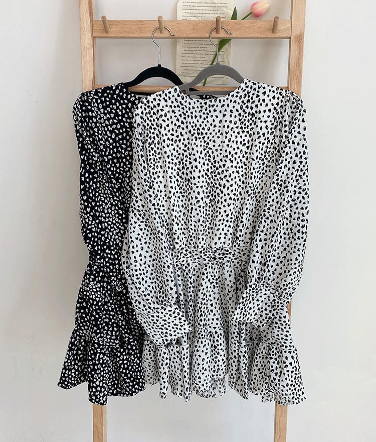 Frill hopi mini dress 洋裝