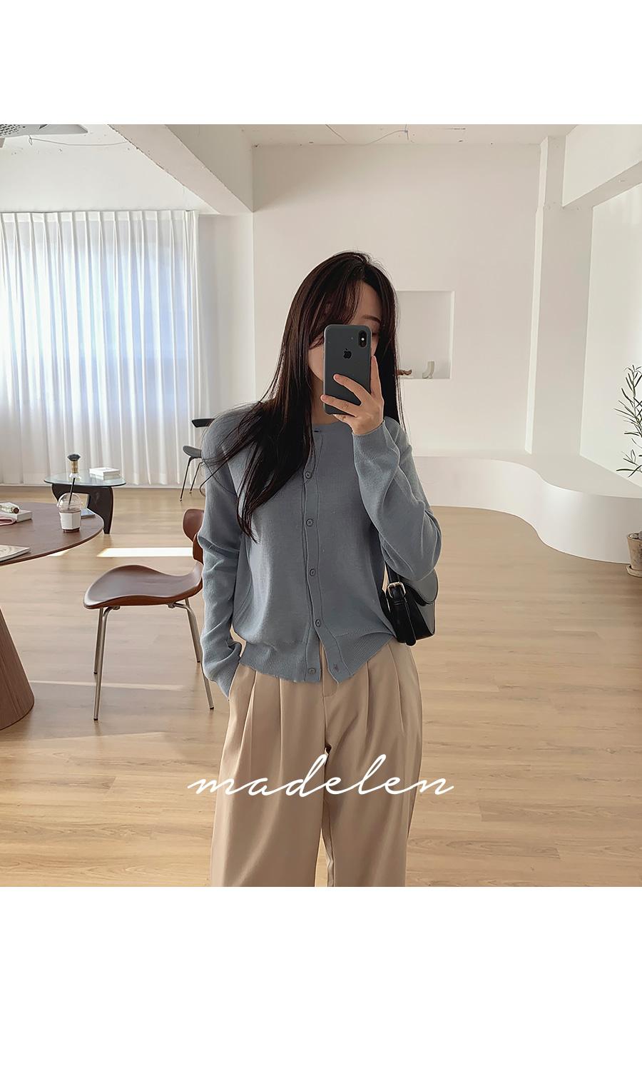 Madeleine Round Cardigan *Added Coordination