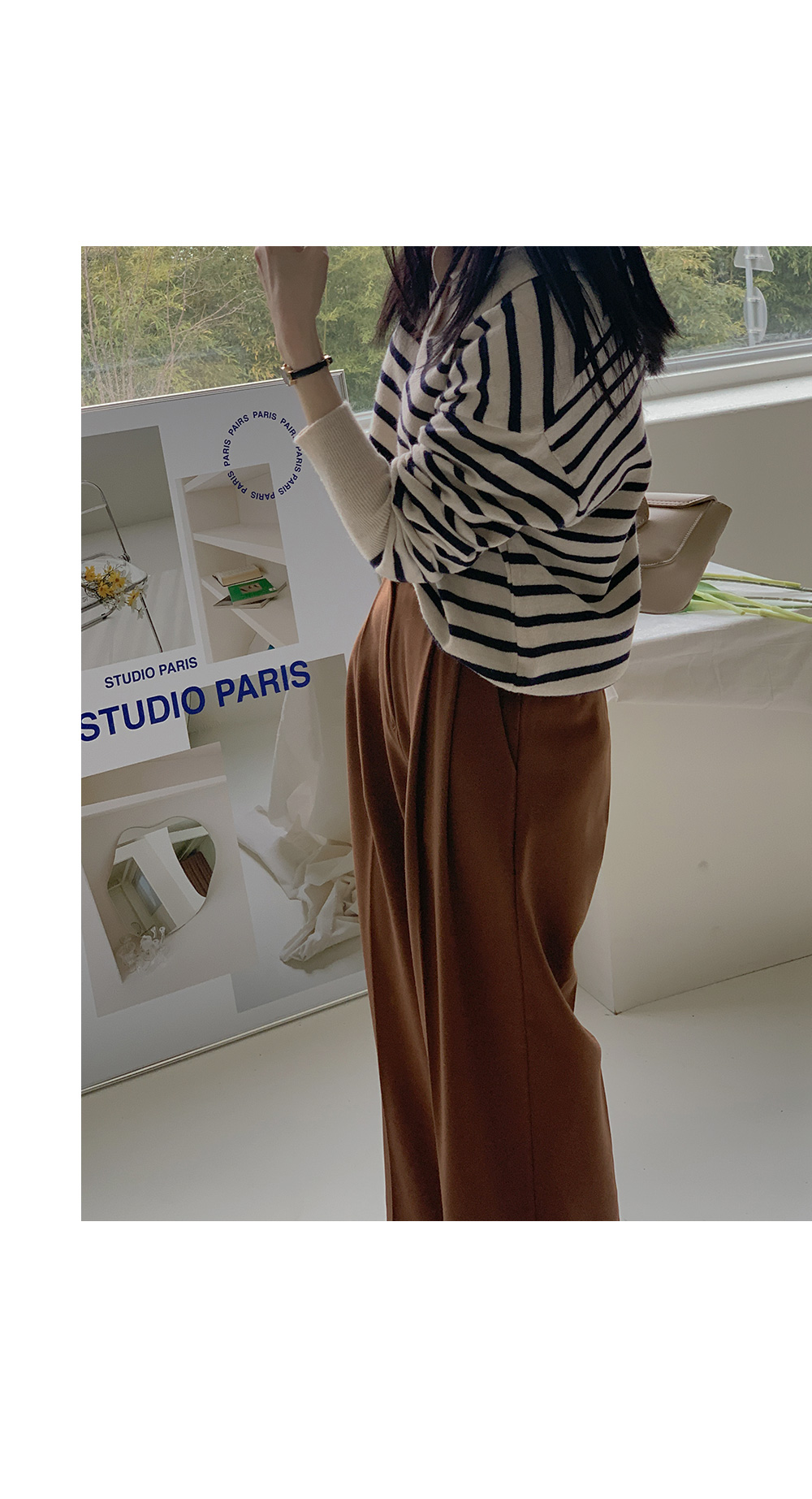 Pauldon Striped knit