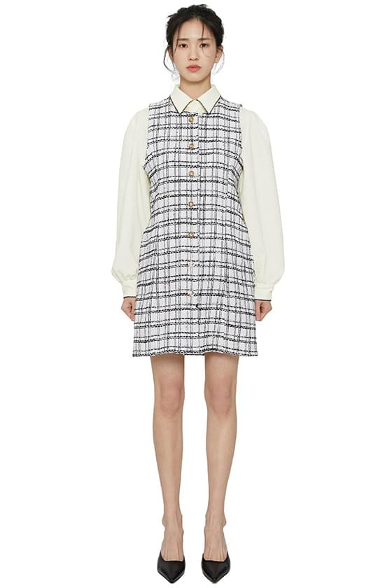 Mary tweed mini dress