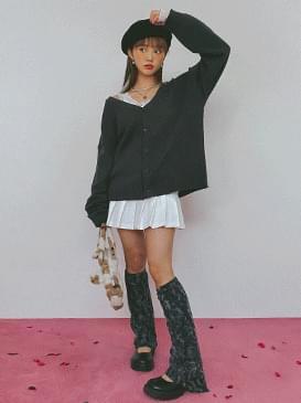 Simple Dury Knit Cardigan 開襟衫