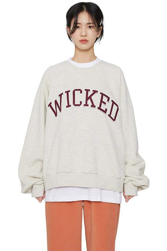Wicked brushed crew neck sweatshirt