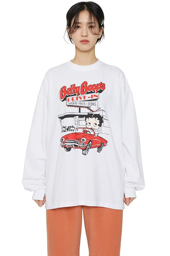 Betty printed long sleeve T-shirt