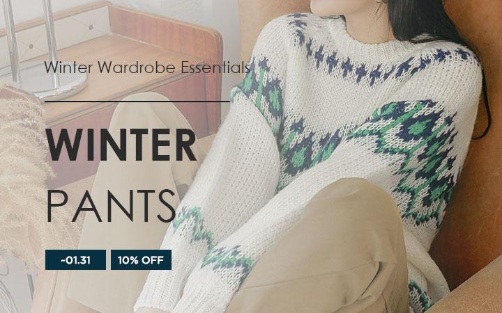 Winter Wardrobe Essentials - Winter Pants