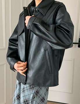 Rest Pocket Leather Jacket 夾克外套