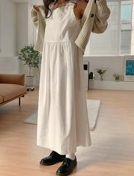 Heidi lace long Dress 洋裝