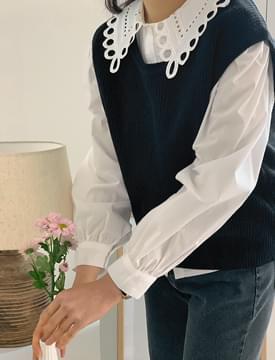 First Simple Knitwear Vest 針織衫