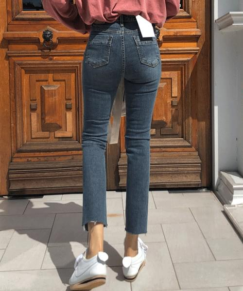 Review High Waist Slim Date Jeans
