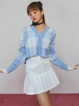 Pleated anime mini skirt 裙子