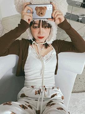 Hook genel cropped cardigan 開襟衫
