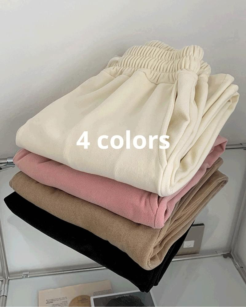 Bellows Color Banding Long Wide Pants 長褲