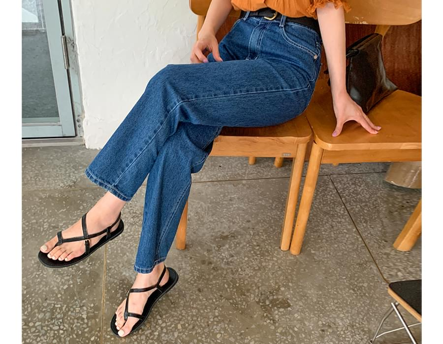 Modern flip flop sandals