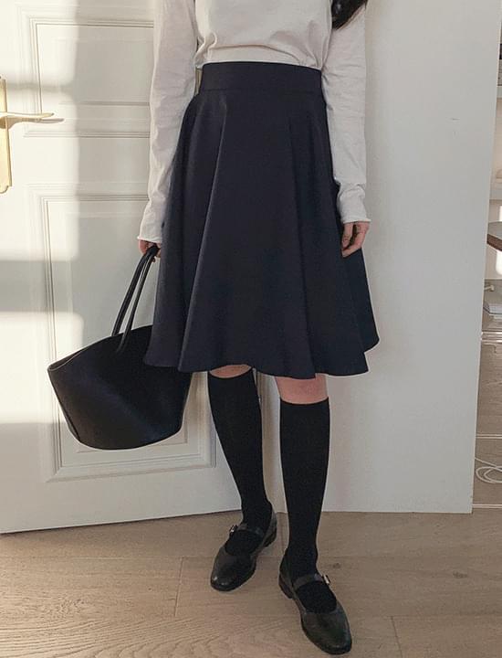 Sharon midi flared skirt
