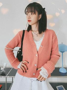 Heart Jazz Knitwear Cardigan カーディガン / ベスト